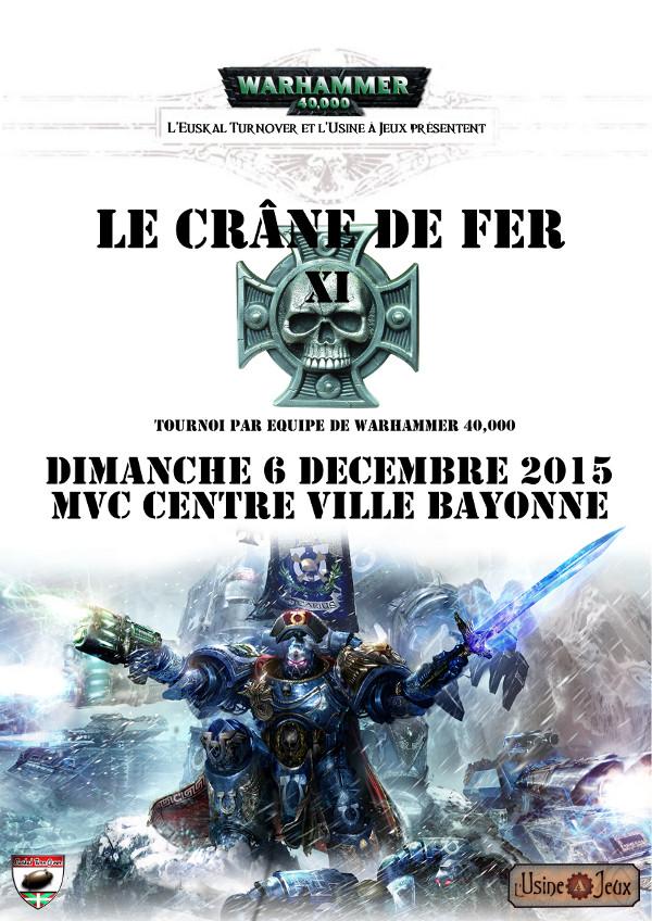 Le Crâne de Fer XI, 6 Décembre 2015 Cranedefer11site