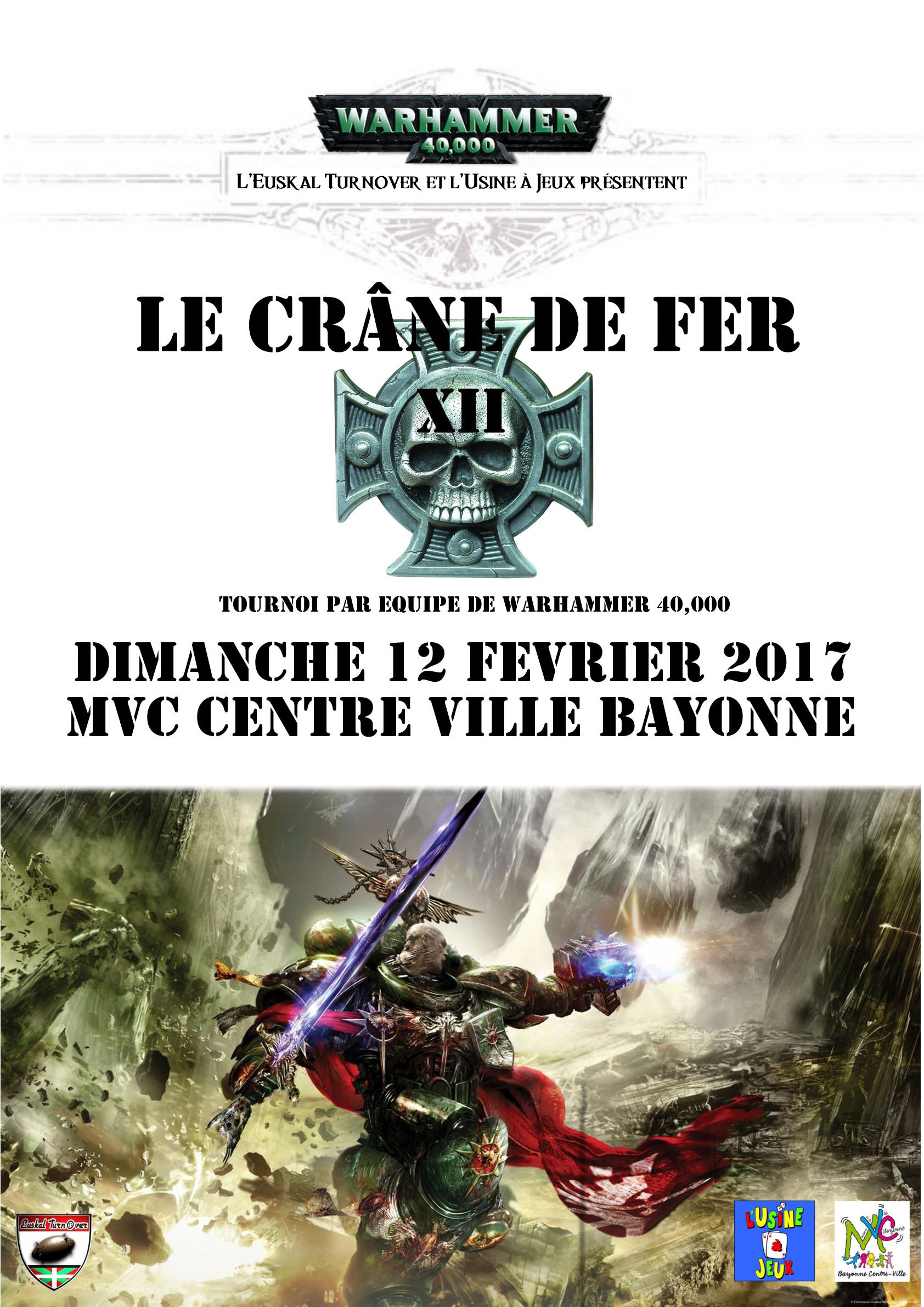 Le Crâne de Fer XII, 12 Février 2017 Cranedefer12