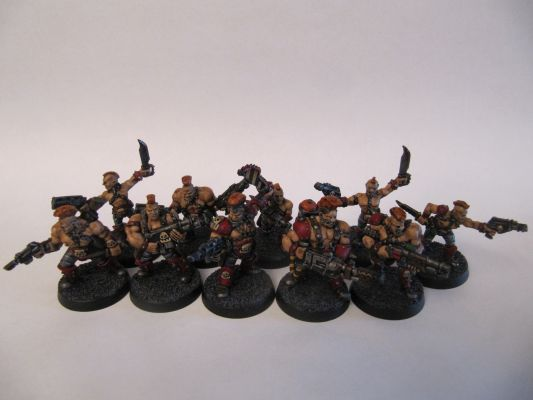 World Eaters Malifas's Warband Chaos(1)