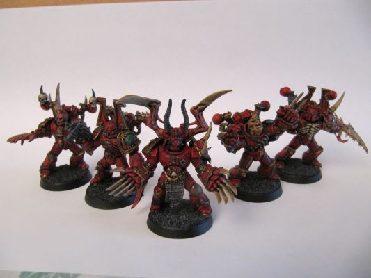 World Eaters Malifas's Warband Chaos(7)
