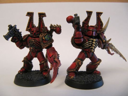 World Eaters Malifas's Warband Chaos(9)