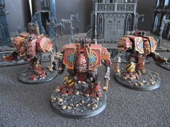 World Eaters Malifas's Warband Dread