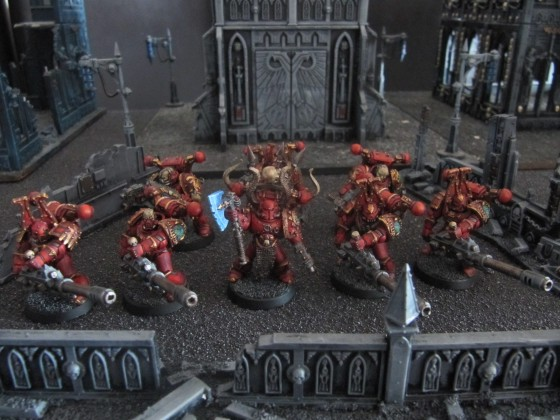 World Eaters Malifas's Warband Faucheurvie