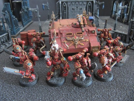 World Eaters Malifas's Warband Fleauxkhorne