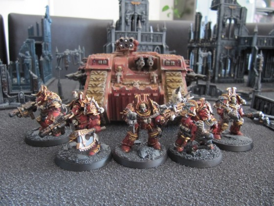 World Eaters Malifas's Warband Mangeurchair