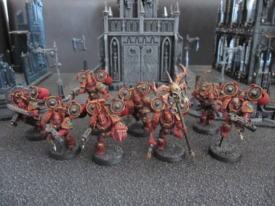 World Eaters Malifas's Warband Serressang