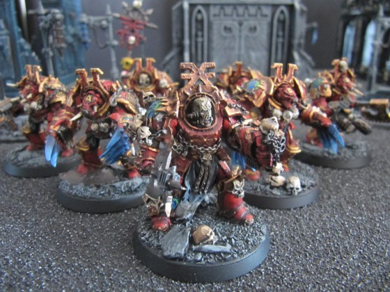 World Eaters Malifas's Warband Zhufor